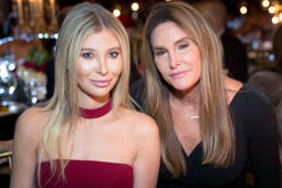 BEVERLY HILLS, CALIFORNIA - SEPTEMBER 22:  (L-R) Sophia Hutchins and Caitlyn Jenner attend the Face Forward's 10th Annual 'La Dolce Vita' Themed Gala at the Beverly Wilshire Four Seasons Hotel on September 22, 2018 in Beverly Hills, California.  (Photo by Greg Doherty/Getty Images)