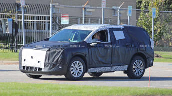Buick New Mid-Size SUV Spy Photo