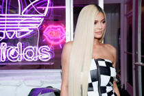 LOS ANGELES, CA - SEPTEMBER 06:  Kylie Jenner attends the Adidas Falcon FW18 Launch: Gas Station Pop-up on September 6, 2018 in Los Angeles, California.  (Photo by Erik Voake/Getty Images for Adidas)