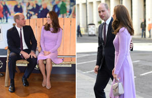 Prince William Duke of Cambridge and Catherine, Duchess of Cambridge attend the first Global Ministerial Mental Health Summit at London County Hall on October 9, 2018 in London, England.
