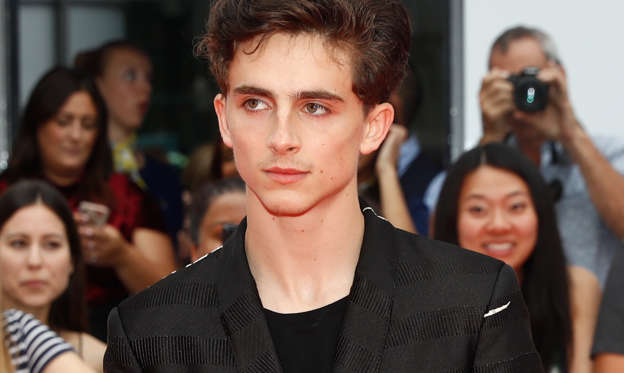 幻灯片 12 - 1: Actor Timothée Chalamet arrives for the world premiere of Beautiful Boy at the Toronto International Film Festival (TIFF) in Toronto, Canada, September 7, 2018. REUTERS/Mark Blinch