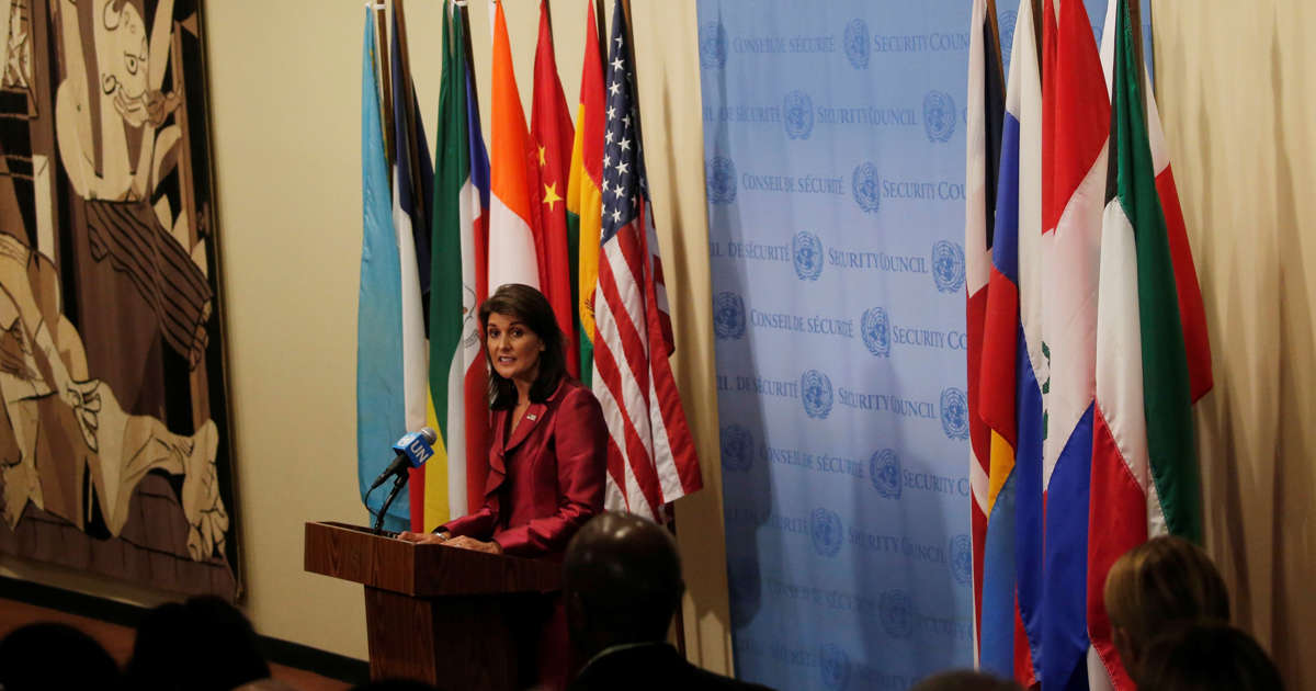 Nikki Haley says the U.S. is now respected. Is it?