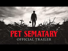 a close up of a sign: Sometimes dead is better. Watch the official trailer for #PetSematary, based on Stephen King's terrifying novel. In theatres April 5, 2019.  Based on the seminal horror novel by Stephen King, (#StephenKing) #PetSematary follows Dr. Louis Creed (Jason Clarke), who, after relocating with his wife Rachel (Amy Seimetz) and their two young children from Boston to rural Maine, discovers a mysterious burial ground hidden deep in the woods near the family's new home. When tragedy strikes, Louis turns to his unusual neighbor, Jud Crandall (#JohnLithgow), setting off a perilous chain reaction that unleashes an unfathomable evil with horrific consequences.   Connect with #PetSematary  Facebook: https://www.facebook.com/PetSemataryMovie  Instagram: https://www.instagram.com/petsematarymovie/  Twitter: https://twitter.com/petsematarymov   Paramount Pictures Corporation (PPC), a major global producer and distributor of filmed entertainment, is a unit of Viacom (NASDAQ: VIAB, VIA), home to premier global media brands that create compelling television programs, motion pictures, short-form content, apps, games, consumer products, social media experiences, and other entertainment content for audiences in more than 180 countries.   Connect with Paramount Pictures Online:   Official Site: http://www.paramount.com/ Facebook: https://www.facebook.com/Paramount Instagram: http://www.instagram.com/ParamountPics Twitter: https://twitter.com/paramountpics YouTube: https://www.youtube.com/user/Paramount