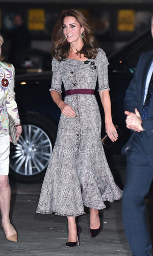 The Duchess of Cambridge during the V&A Photography Centre Opening at the Victoria and Albert Museum in London on October 10, 2018.