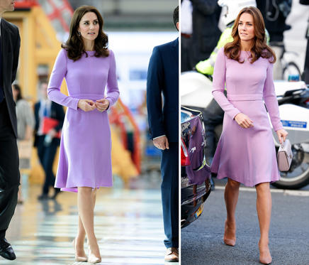 Slide 1 of 44: British royals visiting Germany, visiting Airbus, Hamburg, Germany - 21 Jul 2017; Catherine, Duchess of Cambridge attends the Global Ministerial Mental Health Summit at London County Hall on October 9, 2018 in London, England.