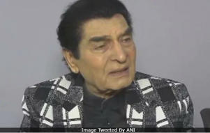 """Don't take this seriously,"" Asrani added (Image courtesy: ANI)"