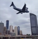 Royal Australian Air Force plane flying low over Brisbane goes viral