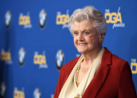 Actress Angela Lansbury arrives for the 2018 DGA Awards at the Beverly Hilton, on February 3, 2018 in Beverly Hills, California. / AFP PHOTO / ROBYN BECK        (Photo credit should read ROBYN BECK/AFP/Getty Images)