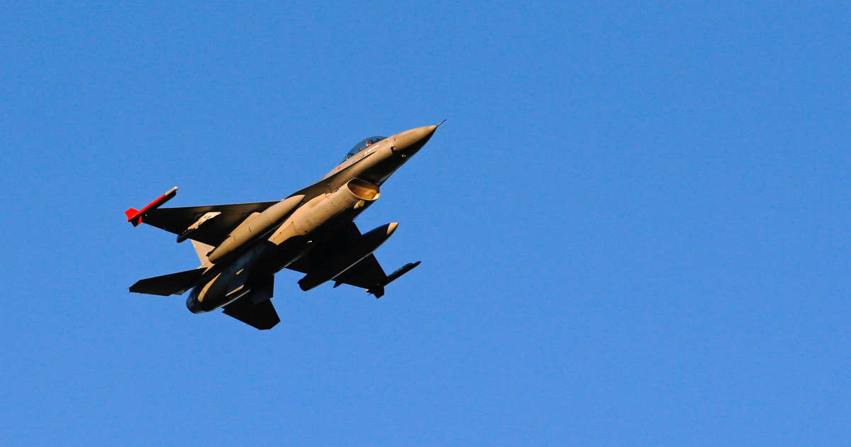F-16 Accidentally Blown Up By Technician