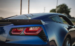 a car parked in a parking lot: 2017 Chevrolet Corvette Grand Sport