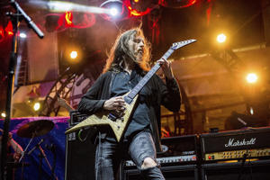 Oli Herbert of The Stowaways performs on board the Carnival Liberty during day 4 of the ShipRocked cruise on Wednesday, Jan. 24, 2017 in Cape Canaveral.