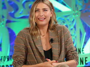 Tennis star Maria Sharapova has confirmed she is dating Prince William and Prince Harry's friend Alexander Gilkes
