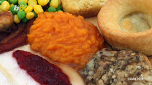 a close up of a plate of food: These Are the Cheapest Last-minute Thanksgiving Getaways