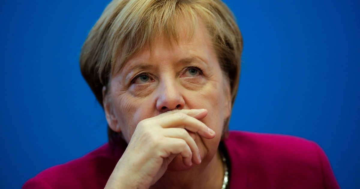 Merkel Steps Down as Party Leader as Election Setbacks Take Toll