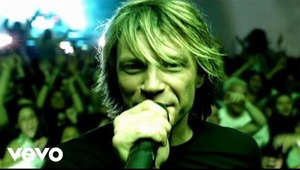 a person with the mouth open: Music video by Bon Jovi performing It's My Life. (C) 2003 The Island Def Jam Music Group