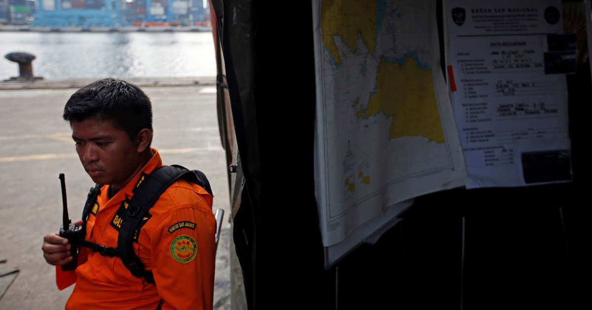 Indonesia military chief believes has located black box of crashed plane