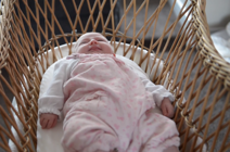 Moses basket in a family for four generations
