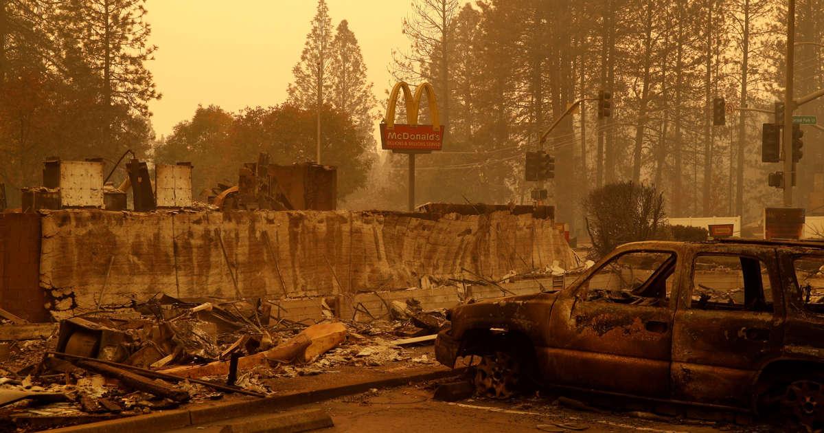 The Latest: California fire survivor says he saw friend die