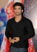 MUMBAI, INDIA MAY 26: Sushant Singh Rajput during a success party of the film 'Half Girlfriend' in Mumbai.(Photo by Milind Shelte/India Today Group/Getty Images)