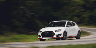 The regular Hyundai Veloster N starts at $27,785, and with the Performance package, it's less than $30 grand.