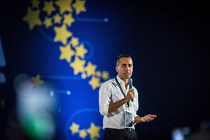 Luigi Di Maio, the deputy prime minister and leader of the anti-establishment Five Star Movement, is ruling in coalition with the far-right League.