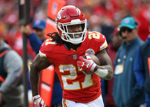 Former Chiefs RB Kareem Hunt