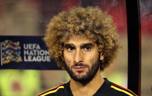 BRUSSELS, BELGIUM - OCTOBER 12: Marouane Fellaini pictured during the UEFA Nations League A group two match between Belgium and Switzerland at King Baudouin stadion on October 12, 2018 in Brussels, Belgium. (Photo by Vincent Van Doornick/Isosport/MB Media/Getty Images)