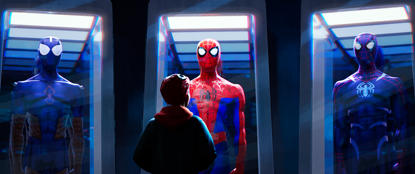 SpiderVerse_mru685.1003_lm_v2 - Miles Morales (Shameik Moore) in Sony Pictures Animation's SPIDER-MAN: INTO THE SPIDER-VERSE.