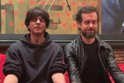SRK meditates with Twitter CEO Jack Dorsey