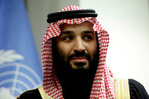 Saudi Arabia's Crown Prince Mohammed bin Salman during a meeting at the United Nations in New York on March 27, 2018.