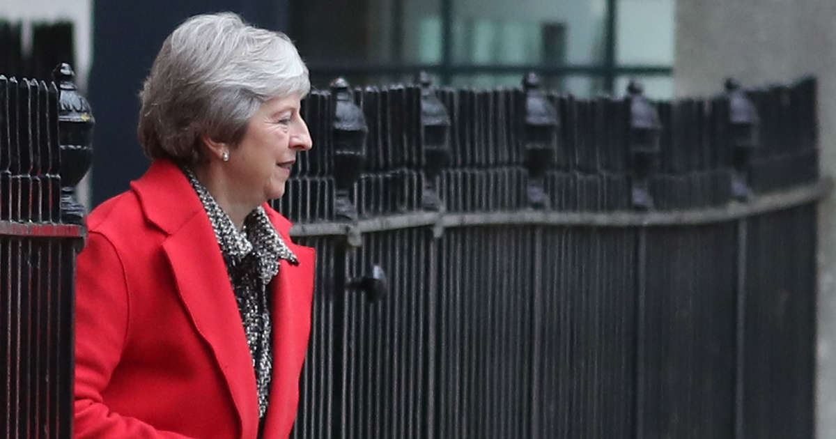 Toppling me won't help Brexit, May tells rebel Tory MPs