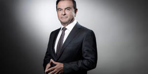 Carlos Ghosn wearing a suit and tie: Superstar auto CEO Ghosn has been arrested in Japan for financial irregularities, along with an alleged co-conspirator.