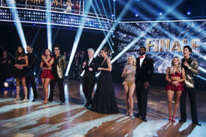 "The final four couples advance to the season finale of ""Dancing with the Stars."""