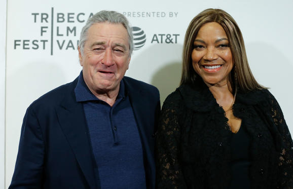 Slide 1 of 54: NEW YORK, NY - APRIL 28:  Robert De Niro and Grace Hightower De Niro attends 2018 Tribeca Film Festival closing night screening of 'The Fourth Estate' at BMCC Tribeca PAC on April 28, 2018 in New York City.  (Photo by John Lamparski/WireImage)