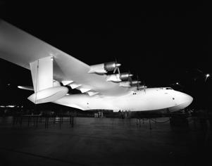 The Spruce Goose Airplane