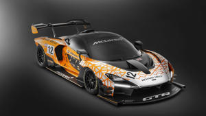 a close up of a motorcycle: McLaren Senna GTR Concept