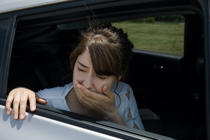 Top tips for avoiding and managing car sickness