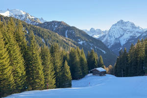 Dolomite, European Alps, Alto Adige, Mountain, Winter, Italy