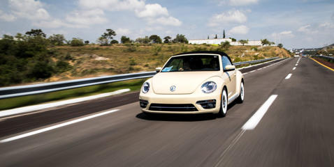 For its last model year, the Volkswagen Beetle can be had as a Final Edition, which features specific interior trim and features.