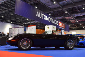 LONDON, ENGLAND - MAY 17: An Eagle Speedster No.2 is displayed during the London Motor Show at ExCel on May 17, 2018 in London, England. The UK's largest automotive retail event will be showing over 150 new vehicles and includes a 'Built in Britain' display, Celebrating all that's great in British automotive engineering.  (Photo by John Keeble/Getty Images)