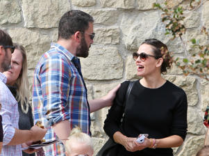 Ben Affleck and Jennifer Garner are seen on November 04, 2018 in Los Angeles, California.  (Photo by BG004/Bauer-Griffin/GC Images)