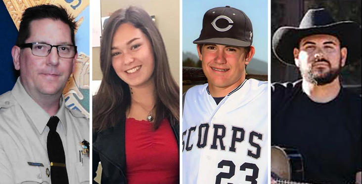 Slide 1 of 13: In photos: Victims of shooting at Borderline Bar & Grill in Thousand Oaks, California