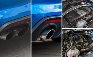 a close up of a car: The Mustang's 10-Speed Automatic Makes It a Quicker but Not Better Pony