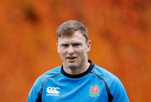 Rugby Union - England Training - Pennyhill Park Hotel, Bagshot, Britain - November 7, 2018   England's Chris Ashton during training   Action Images via Reuters/Andrew Boyers