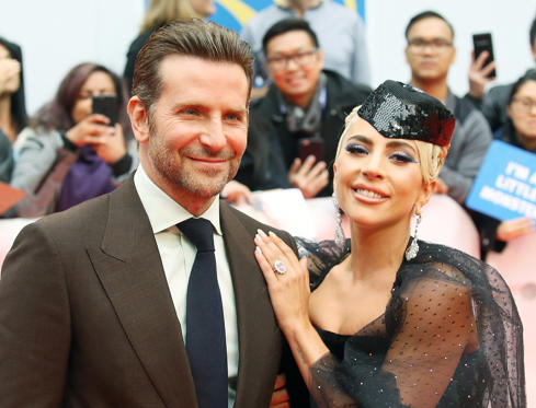 Slide 1 of 5: Bradley Cooper and Lady Gaga arrive to the premiere of 'A Star is Born' during the 2018 Toronto International Film Festival held on September 9, 2018 in Toronto, Canada.