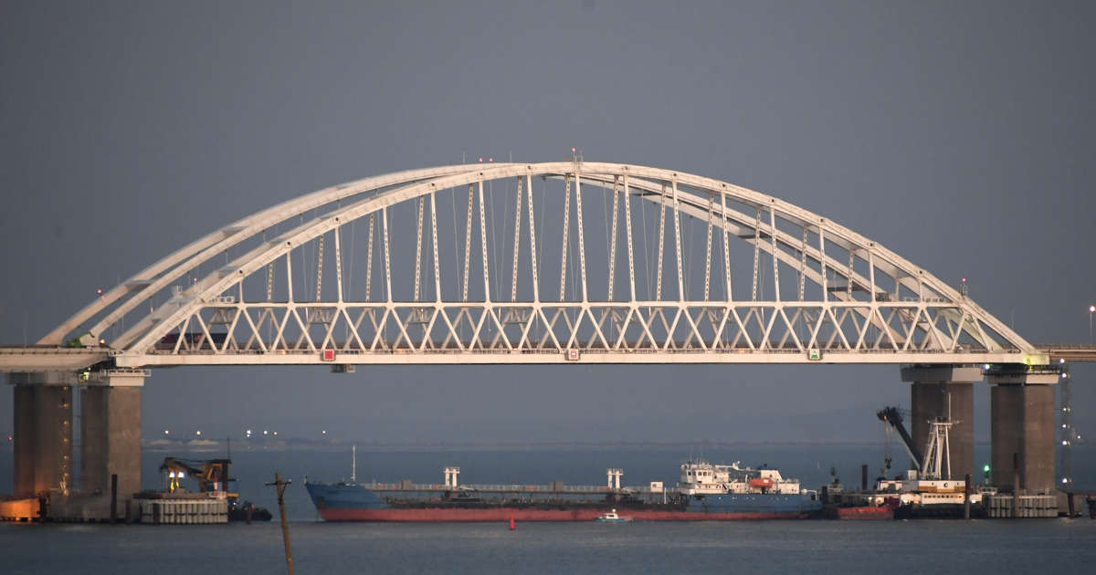 Russia accuses Ukraine of provoking incident in Kerch Strait