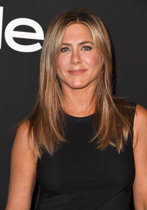 Jennifer Aniston arrives at the 2018 InStyle Awards at The Getty Center on October 22, 2018 in Los Angeles, California.  (Photo by Steve Granitz/WireImage)