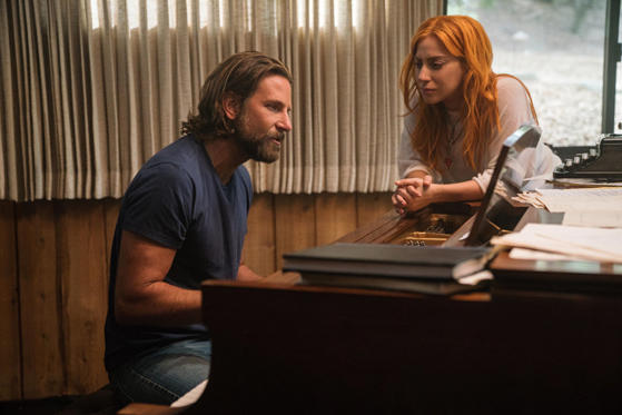 Slide 1 of 42: Editorial use only. No book cover usage. Mandatory Credit: Photo by Warner Bros/Moviestore/REX/Shutterstock (9937030c) Bradley Cooper, Lady Gaga A Star Is Born - 2018