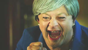 Andy Serkis resurrects Gollum as Theresa May for savage Brexit parody