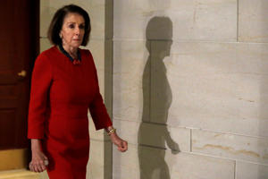 House Democratic leader Nancy Pelosi  (D-CA) leaves after a closed intelligence briefing with CIA Director Gina Haspel on the death of Saudi dissident Jamal Khashoggi on Capitol Hill in Washington, U.S., December 12, 2018.